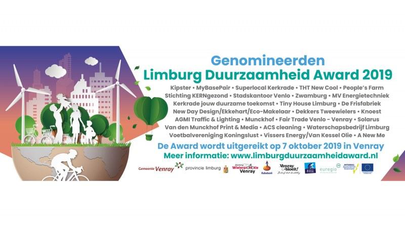 AGMI genomineerd voor de Limburg Duurzaamheid Award 2019!