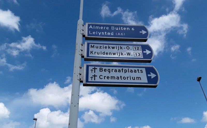 Schouwing lichtwegwijzers gemeente Almere