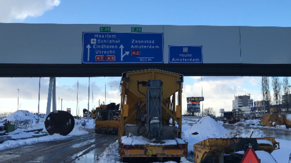 A9 Gaasperdammerweg IXAS