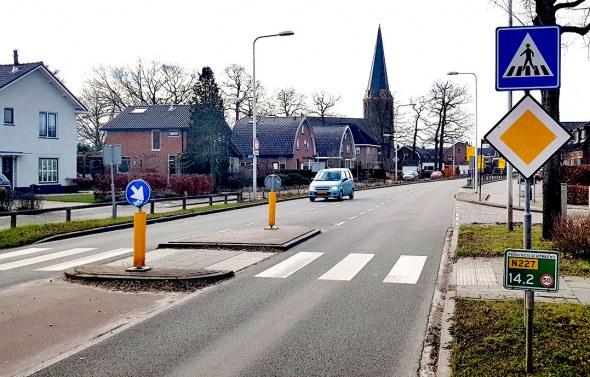Hectometerborden voor de provincie Utrecht