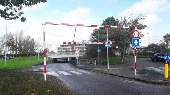 Hoogteportaal Brakkeveldweg