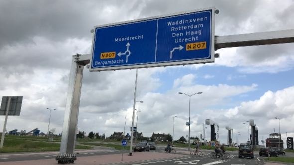 N207 Zuidwestrandweg Gouda