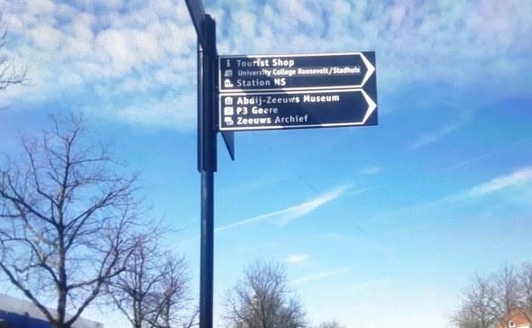 Wandelbewegwijzering Middelburg