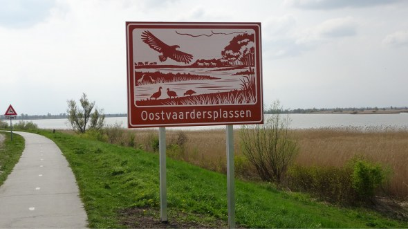 Duurzame toeristische bewegwijzering in Lelystad