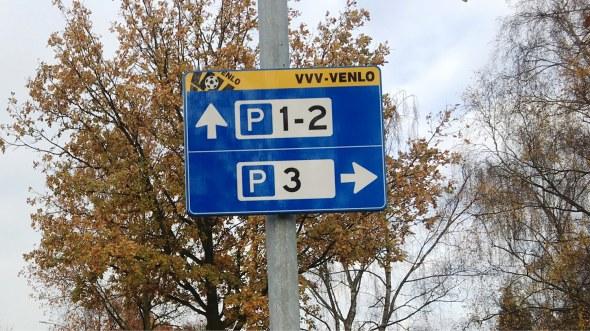 Parkeerbewegwijzering Stadion VVV-Venlo