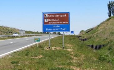 Nieuwe toeristische bewegwijzering op Buitenring Parkstad en N281
